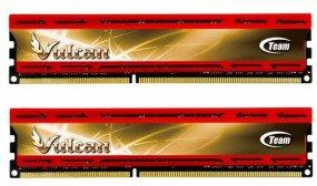 [HoH.de] wieder günstig - DDR3 PC3 Arbeitsspeicher Team Group 8GB KIT PC3-12800 DDR3-1600 CL9 2x4GB xtreem Vulcan rot