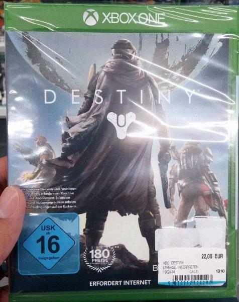 [Lokal] Destiny XBOX ONE für 22€ MM Ingolstadt