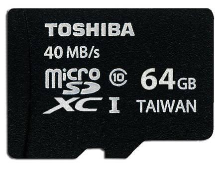 Toshiba microSDXC 64GB Class 10 UHS-I (40 MB/s Lesen / 20 MB/s Schreiben) für 20,70€ @Allyouneed