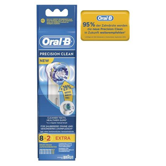 Braun Oral-B Aufsteckbürsten Precision Clean Vorratspackung ( 30Stück für 54,68€ = 1,82€ oder 50 Stück - 1,80€ pro Stück ) für 90,44€ - Marktabholung/Payback @real-onlineshop.der oder 1 Stück für 19,98€ @http://de.allyouneed.com