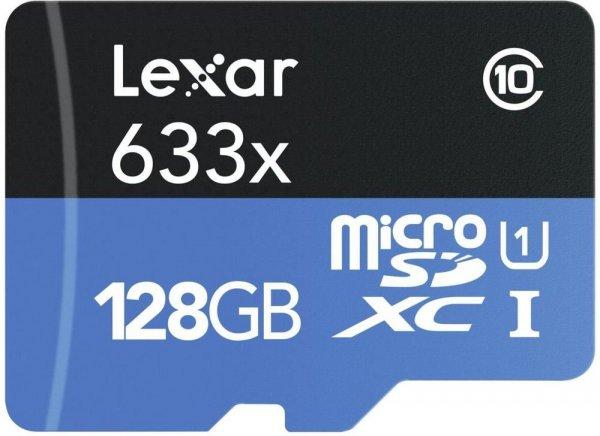 [Amazon] Lexar microSDXC High Performance mit 128GB Class 10 / UHS I für 69,90€ oder bei [Redcoon] für 62,88€