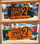 [Expert-Bening Gruppe und Expert Technikmarkt Gruppe] 3 für 2 Aktion für CD,DVD,Blu-Ray und Games am 29.05-30.05