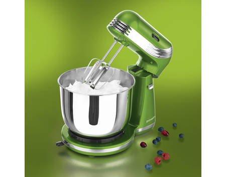 gourmetmaxx Küchenmaschine Classico metallic limegreen Rühr Knet Maschine für 29,99€ bei allyouneed.com, Versandkostenfrei