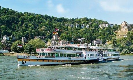 Tagesticket für Zwei für eine Schiffstour auf dem Rhein inkl. Essen an Bord mit der KD für € 50 statt 125,60 € @ Groupon ( Qipu möglich)