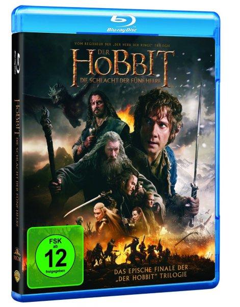 Amazon Hobbit Die Schlacht der fünf Heere Blu-ray 11,11€