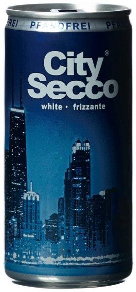 [Amazon] City Secco Frizzante trocken (12 x 0,2 l Dosen) für 3,98€ im Sparabo