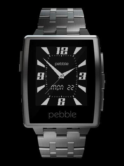 179 € Pebble Steel Smart Watch @Media Markt / Amazon