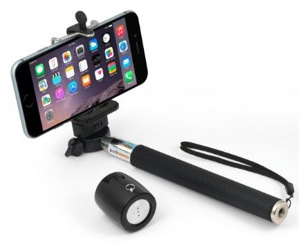 MusicMan NANO Selfie BT-X12 für 12,90€ @ NBB - Selfie Stick und Lautsprecher