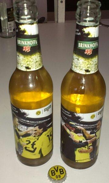 Brinkhoffs No. 1, Kiste Bier zum Pokalfinale Rewe Dortmund
