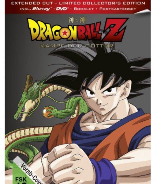 [Amazon Vorbestellung] Dragonball Z - Kampf der Götter  [Limited Collector's Edition] (Bluray)