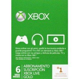 Xbox One Live Gold 7 Monate für 16,84€