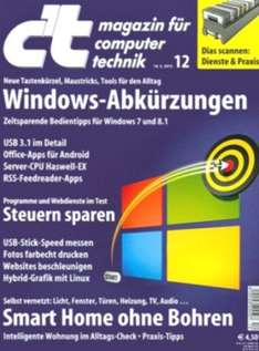 """6x """"C'T"""", als Heft oder Digital + Zugang zum Online-Archiv für 19,50€ + Kugelgrill als Geschenk (idealo Bestpreis 21,95€)"""