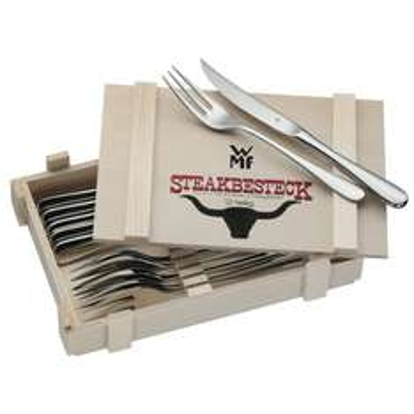 [wieder da] WMF Steakbesteck @ Höffner für 27,95 € // weitere Möglichkeit über redcoon!!