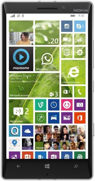 Nokia Lumia 930 LTE (5'' FHD OLED, 2,2 GHz Quadcore, 2 GB RAM, 32 GB intern) Zustand: Demoware / Neuwertig Versandkostenfrei für 274,55  @Allyouneed.com [Meinpaket]
