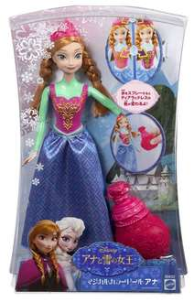 [Amazon-Prime] Mattel Disney Princess Farbwechselzauber Anna Puppe