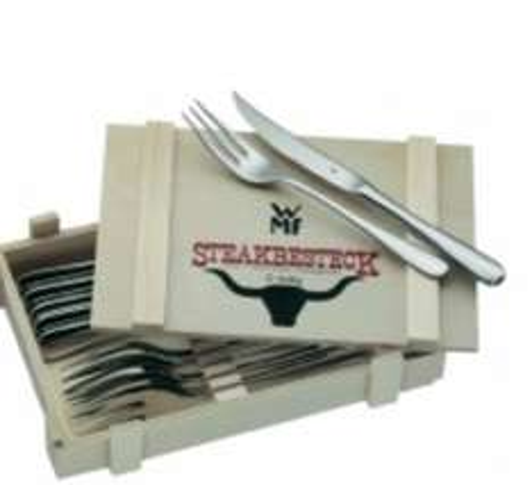 12 Teiliges Steakbesteck Set WMF@Voelkner