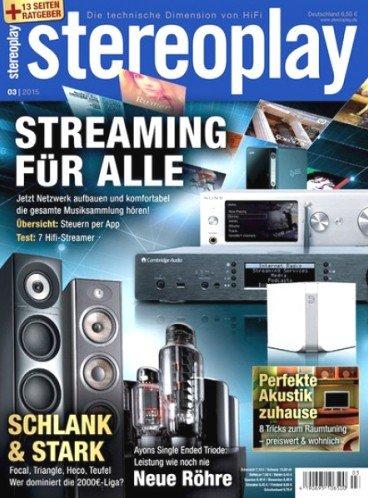 """4 Ausgaben """"stereoplay"""" für 14,90€ mit 10€ Universal-Gutschein"""