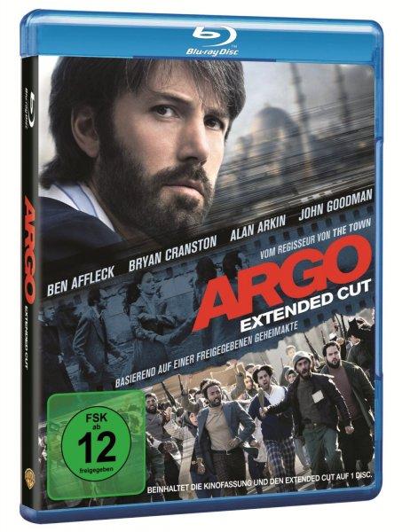 Blu-ray - Argo (Extended Cut) für €4,99 [@Amazon.de]