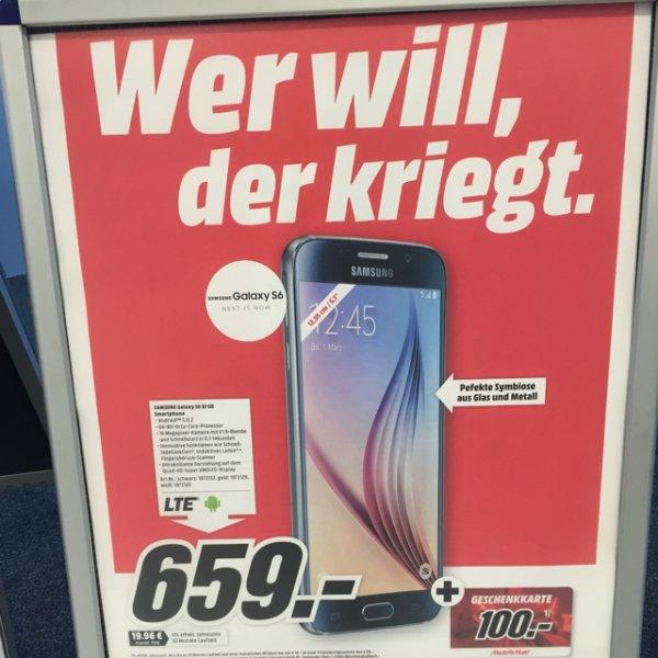Samsung s6 32 Gb nur 559 €