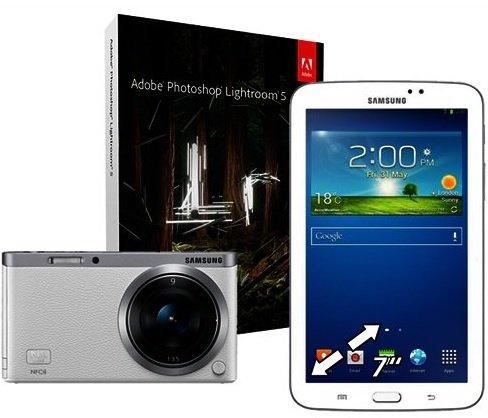 [Schweiz - melectronics] Samsung NX mini Systemkamera + Galaxy Tab3 + Lightroom