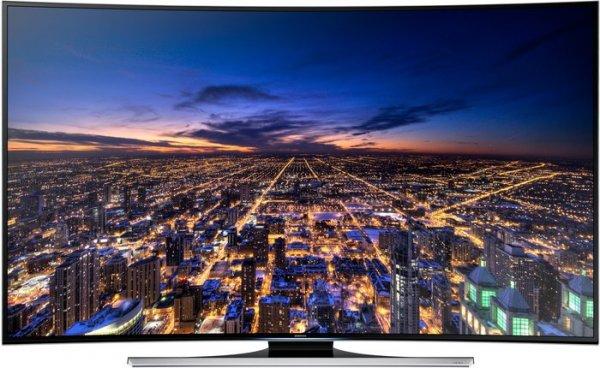 Samsung UE65HU8290 Curved UHD-TV + Blu-ray-Player, UHD-Festplatte mit Filmen, Wireless-Tastatur, Skype-Kamera, Wandhalterung und 6x 3D-Brillen für 1.999€ @ Comtech