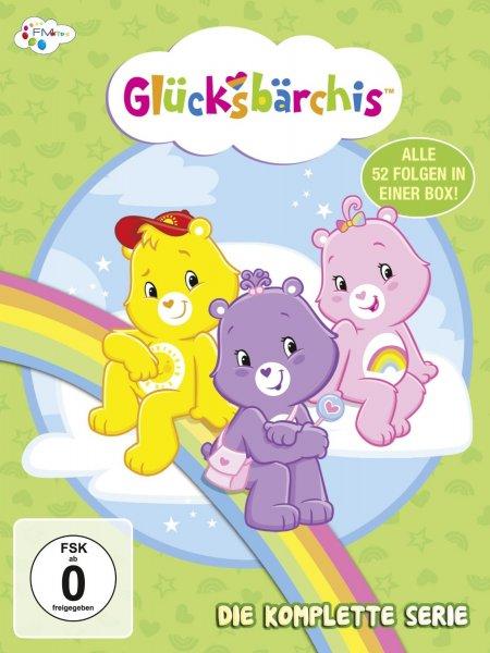 (Amazon.de-Prime) Glücksbärchis - Die komplette Serie 4 DVDs für 10,99€