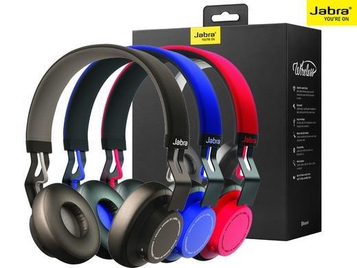 [Ibood] Jabra Move Wireless Bluetooth On-Ear-Kopfhörer (Stereo-Headset, Bluetooth 4.0) in Schwarz, Blau oder Rot für 55,90€ inc. Versand