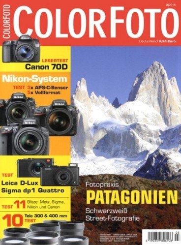 """4 Ausgaben der """"Colorfoto"""" für 14,90€ + 10,00€ Universal-Gutschein (u.a. für Amazon) als Prämie"""