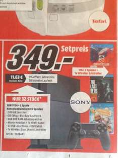 [lokal MM Kaiserslautern] - Sony PlayStation 4 + Driveclub + LittleBigPlanet 3 + The Last of Us Remastered