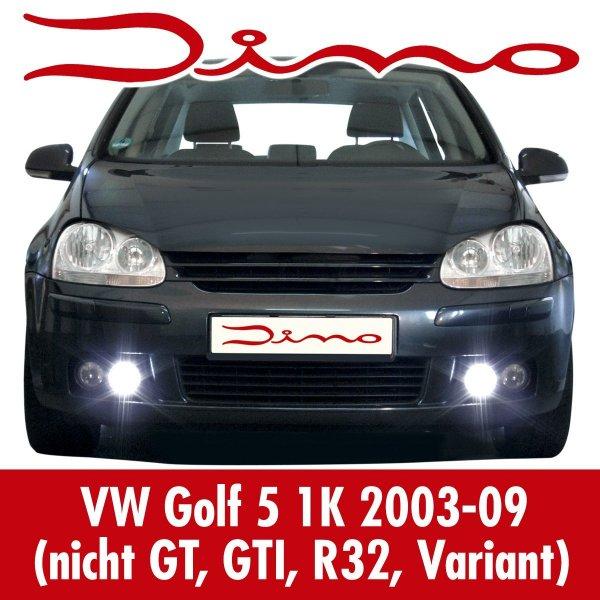 [Amazon] Dino 610851 VW Golf 5 LED Tagfahrlicht mit Grilleinsätzen (nächster Preis: 57,09€)