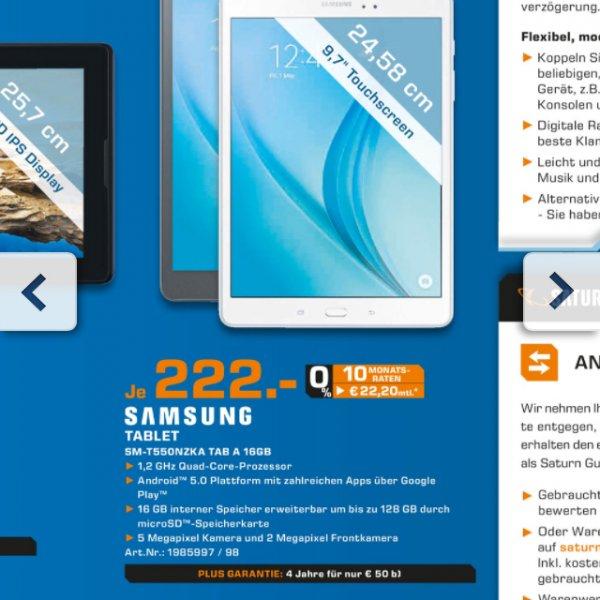 Samsung Tab A 222€ kostenloser Versand!!!!