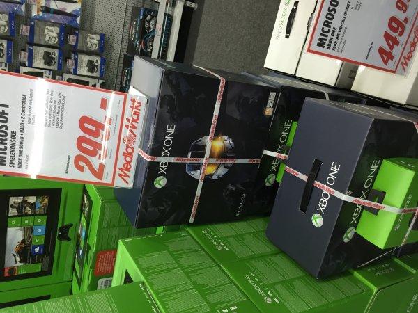 [Lokal MM Osnabrück] XBOX One + Halo + 2. Controller + 1 Monat XBOX Live Gold