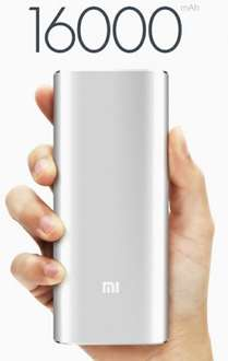 Original Xiaomi Powerbank 16000mAh 16.10€