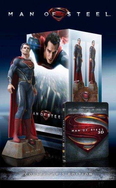 (Amazon.de) Man of Steel Ultimate Collectors Edition - 3D Blu-ray - Limited Collector's Edition für 49,99€