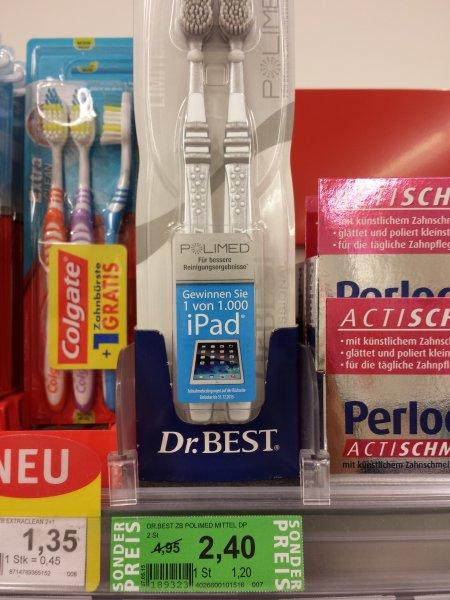 [ROSSMANN] Dr. BEST POLIMED Doppelpack (Abverkauf + Coupon)