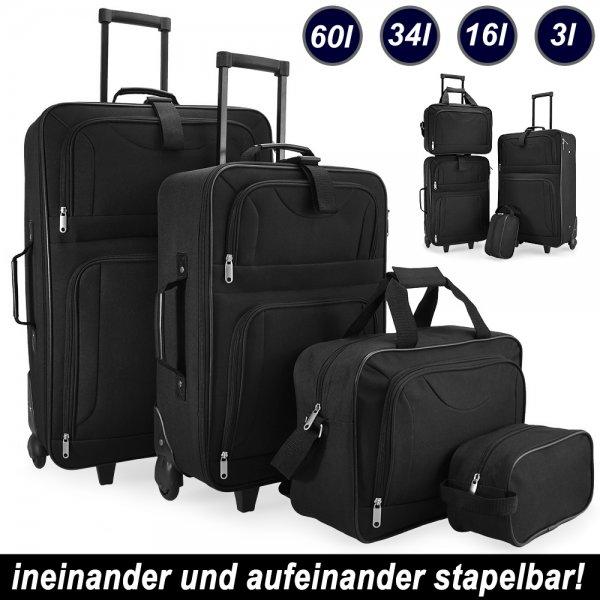 [Ebay] Reisekoffer 4tlg. Trolley Kofferset für 42,95.- inkl. Versand