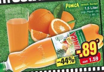 [KW23 Netto MD] Punica 1,5 l für 0,39 € (Angebot + reebate - nur für Android!)