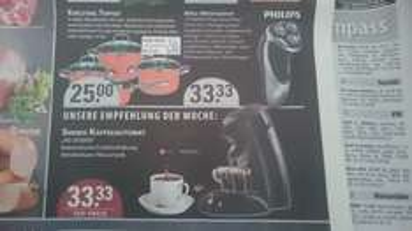 [Lokal Bochum] Rasierer Philips PT860/16 PowerTouchPlus sowie Senseo HD7810/60 nur 33,33€ / 27€ unter IDEALO