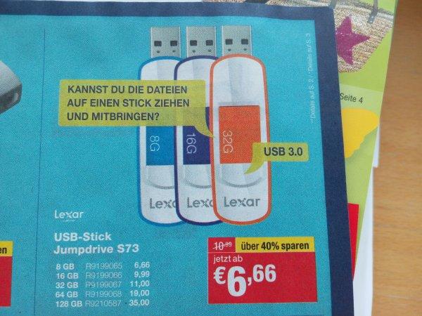[Staples - Offline] Lexar 128 GB USB 3.0