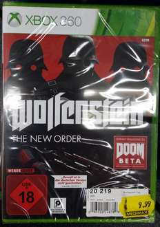 [MEDIMAX - Waldkirch] Wolfenstein: The New Order (Xbox 360, Xbox One, PS3, PS4)