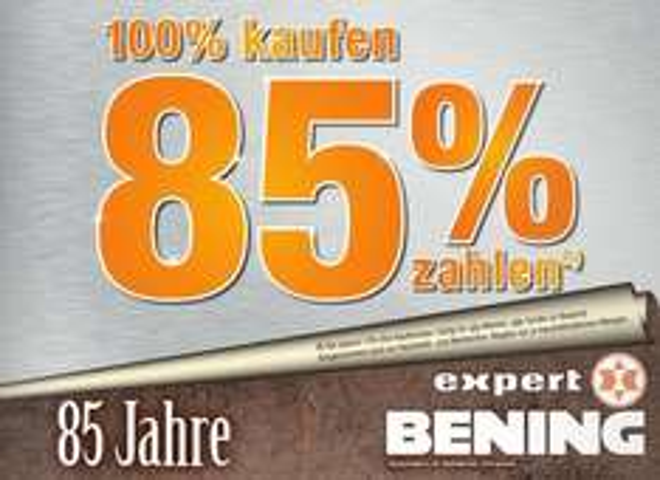 [Expert Bening] 15% auf Alles!