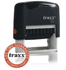 TRAXX Marken-Stempel 38x14 mm, 4-zeilig, für nur 3,99 € inklusive Versand,  @Amazon Marketplace