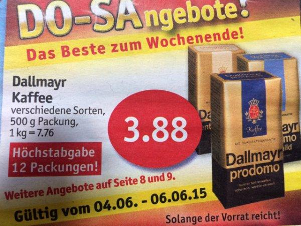 Dallmayr Kaffee 500 g für 3,88 € @ sky-Supermarkt
