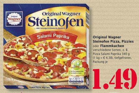 [lokal] Wagner Pizza - versch. Sorten (Steinofen Pizza, Pizzies oder Flammkuchen) @ Marktkauf Trier