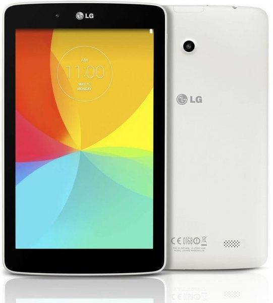 LG G Pad 8.0 (V480) WiFi, schwarz o. weiß für 99,90 € statt 134,95 €, versandkostenfrei bei @ZackZack
