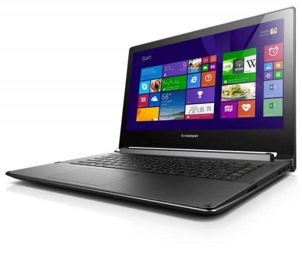 [Amazon WHD] Lenovo Flex 2-14D 35,6 cm (14 Zoll HD LED) Convertible Notebook (AMD A8-6410, 2,4 GHz, 4GB RAM, 256 GB SSD, Radeon R5 M230 GPU/2 GB, Touchscreen, Win 8.1) schwarz für 328,62 € (zuletzt  453,22 €)