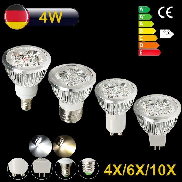 [Ebay] [Sonderpreis] LED 4W Strahler Lampen ab 9,44€