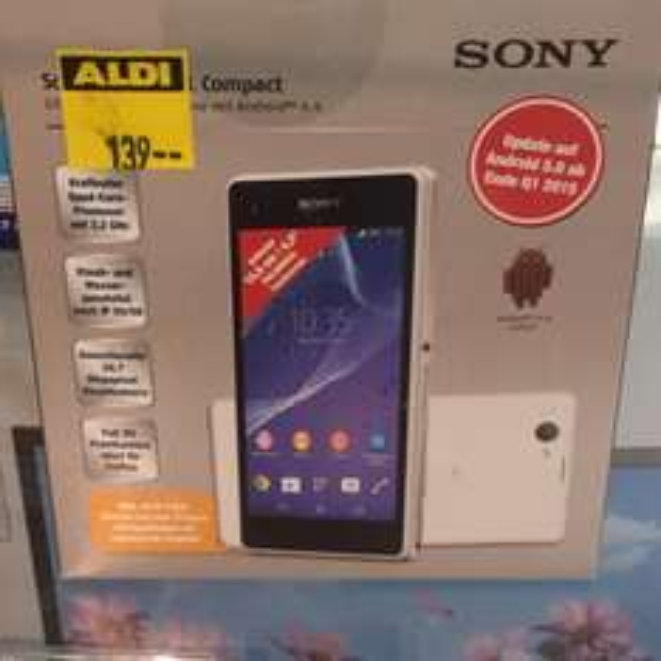 lokal Aldi Nord Sony xperia z1 Compact (Dortmund)