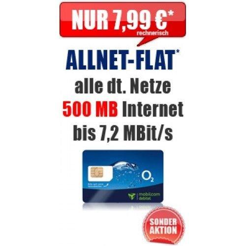 Ebay O2 Comfort Allnet Flat + 500MB für effektiv 7,99€ 24Monate Sim-Only durch 96€ Auszahlung