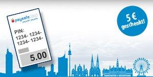 5€ Paysafecard beim Kauf einer 10€ Paysafecard geschenkt